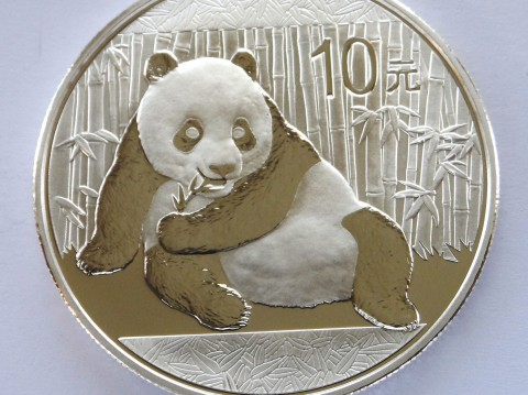 2015 Chinese Panda 1 oz 999 Silver Bullion Coin