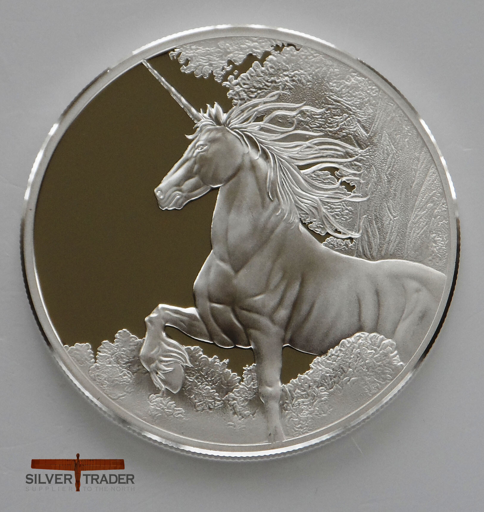 Unicorn And Pegasus Proof Finish 1 Ounce Bullion Coins