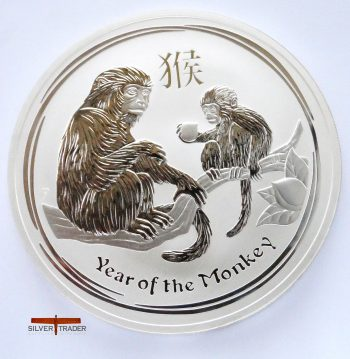 2016 Australian year of the Monkey 10 ounce bullion coin