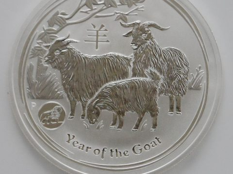 2015 Australian Privy Year of the Goat 1 oz Silver Bullion Coin