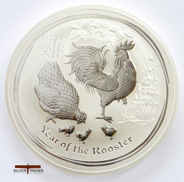 2017 Australian year of the Rooster 10 ounce bullion coin