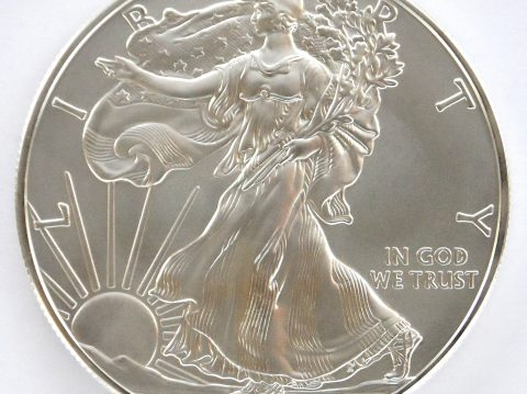 2011 American eagle 1 ounce silver bullion coin