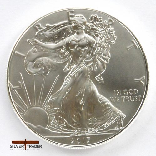 2017 American Eagle 1 oz 999 Silver Bullion Coin