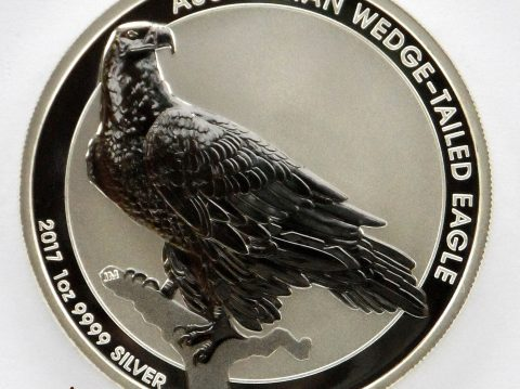 2017 Australian Wedge Tailed Eagle 1 ounce silver bullion coin