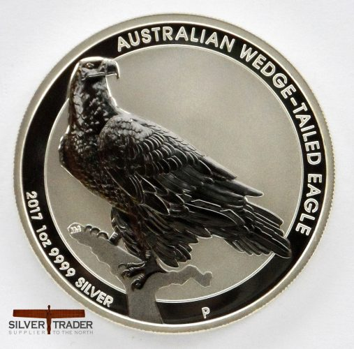 2017 Australian Wedge Tailed Eagle 1 oz Silver Bullion Coin