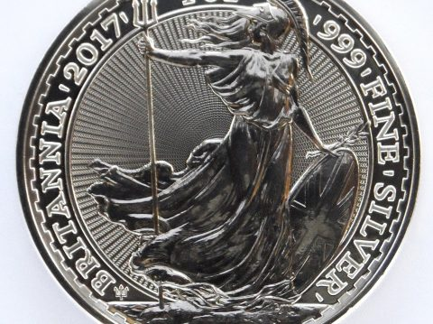 2017 Britannia 1 oz 20th Anniversary Silver Bullion Coin