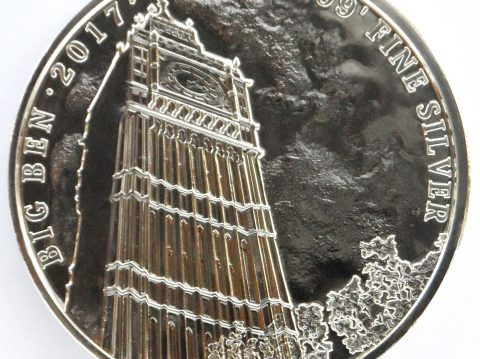 2017 Big Ben 1 oz Landmarks of Britain Silver Bullion Coin