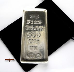 2018 Albion 500 Gram Sheffield Hallmarked Silver Bullion Bar