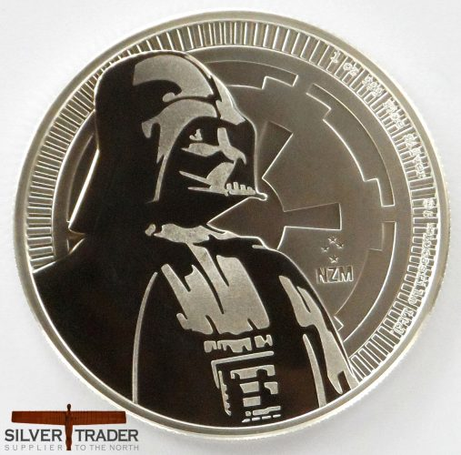 2017 Darth Vader Star Wars 1 oz Silver Bullion Coin