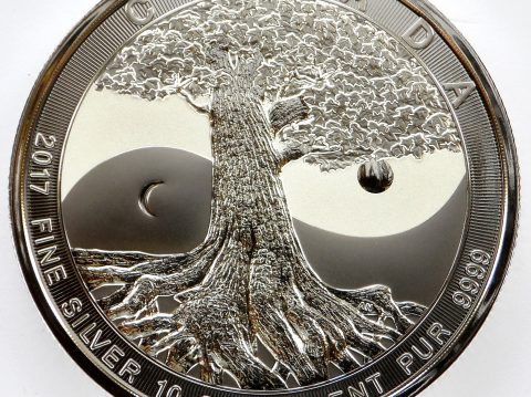 2017 Canadian 10 oz Tree of Life Silver bullion Coin