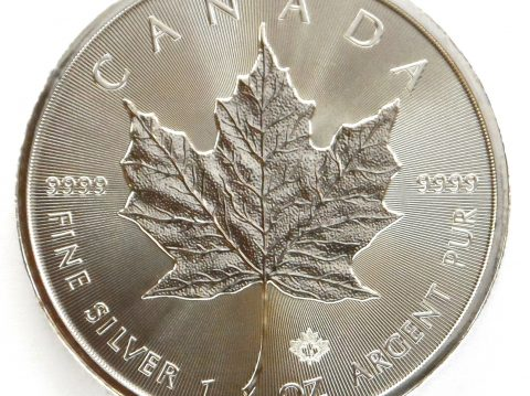 2018 Canadian Maple Leaf 1 oz Silver Bullion Coin