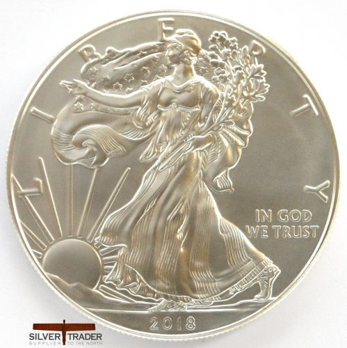 2018 American Eagle 1 oz 999 Silver Bullion Coin