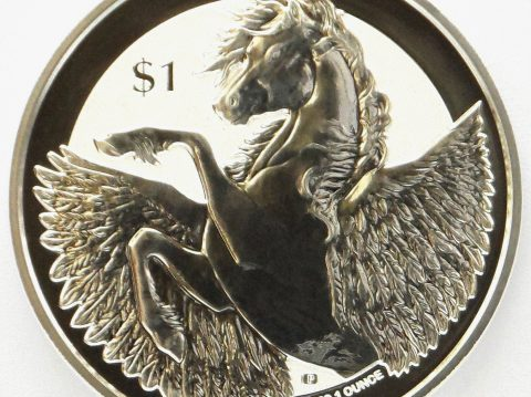 2018 Pegasus 1 oz Virgin Islands Silver Bullion Coin