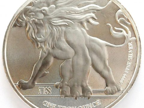 The 2018 Roaring Lion 1 oz Niue Silver Bullion Coin