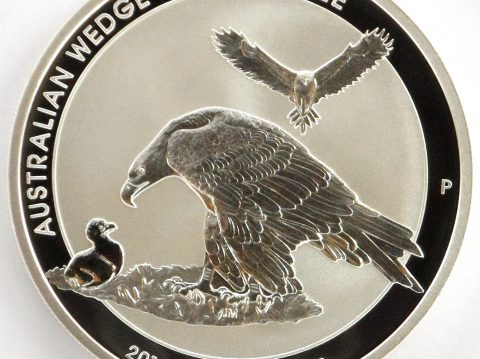 2018 Australian Wedge Tailed Eagle 1 oz Silver Bullion Coin