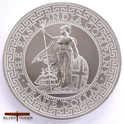 2018 St Helena Trade Dollar Restrike 1 oz Silver Bullion Coin