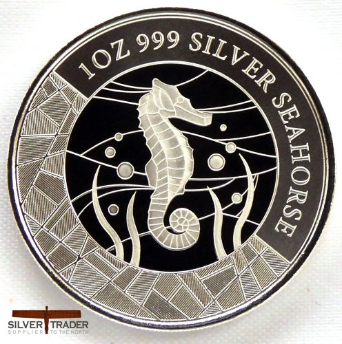The 2018 Somoan Seahorse 1 oz Silver Bullion Coin