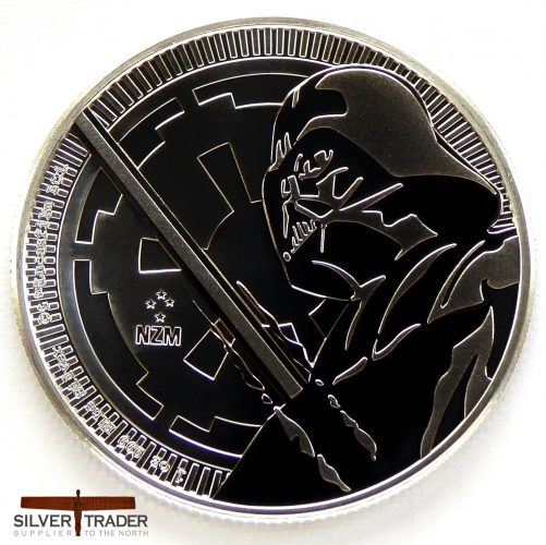2018 Darth Vader Star Wars 1 oz Silver Bullion Coin