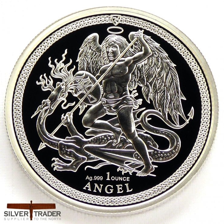 2018 Isle of Man Angel 1oz Silver Proof Bullion Coin