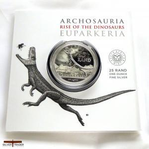 2019 South African Archosauria Dinosaurs Series 1oz Silver Bullion Coin