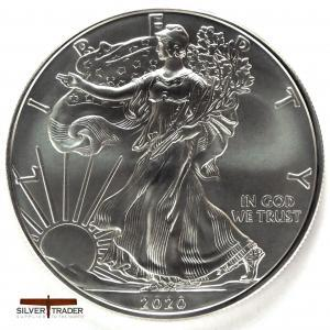 2020 American Eagle 1 oz 999 Silver Bullion Coin