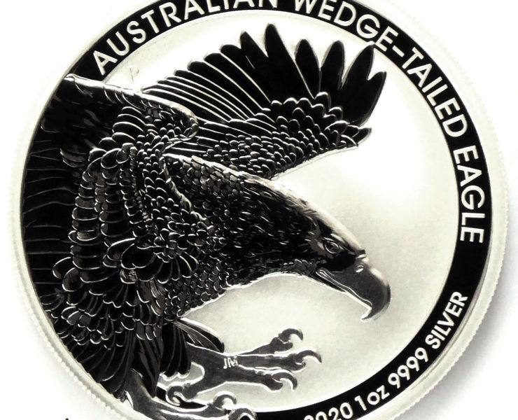 2020 Australian Wedge Tailed Eagle 1 oz Silver Bullion Coin