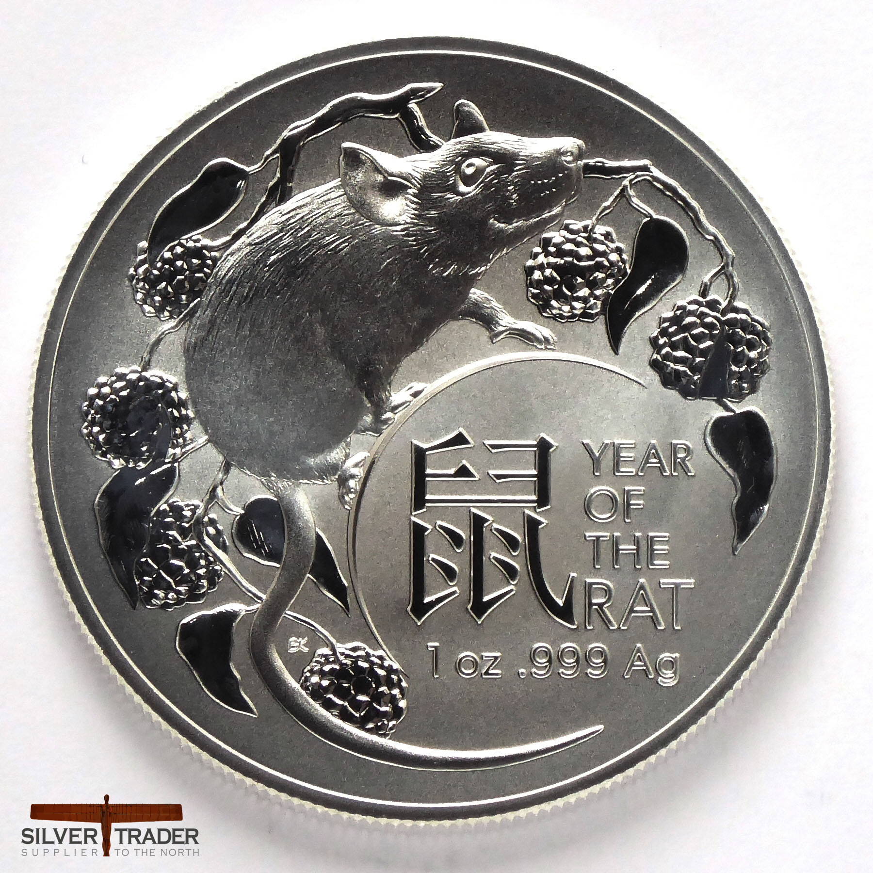 2018 Chinese Lunar Year Of The Pig 1 oz .999 Silver USA Made Proof-Like BU Round