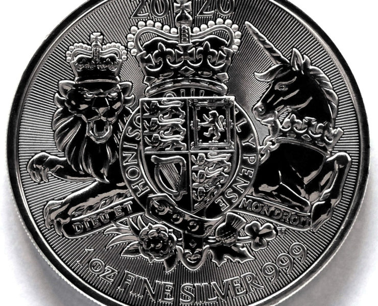 2020 Royal Coat of Arms 1oz Silver Bullion Coin