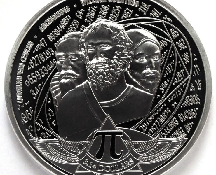 2020 Number PI Solomon Islands 1oz Silver Bullion Coin