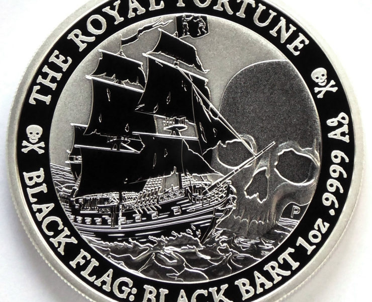 2020 Black Flag The Royal Fortune 1oz Silver Bullion Coin