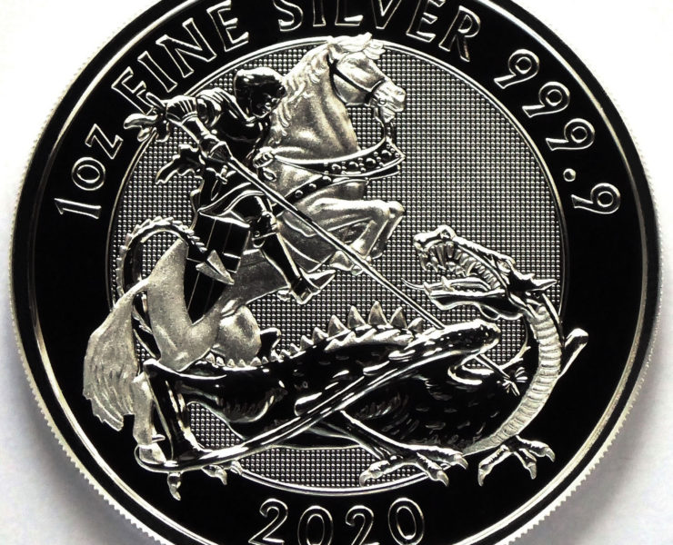 2020 Silver Valiant 1oz Royal Mint Silver Bullion Coin