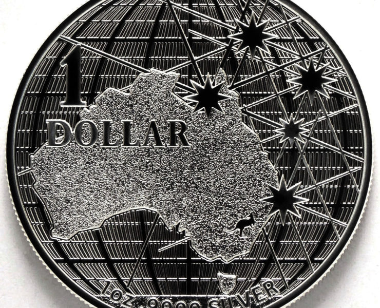 2020 Australian Beneath the Southern Skies 1oz Silver Bullion Coin