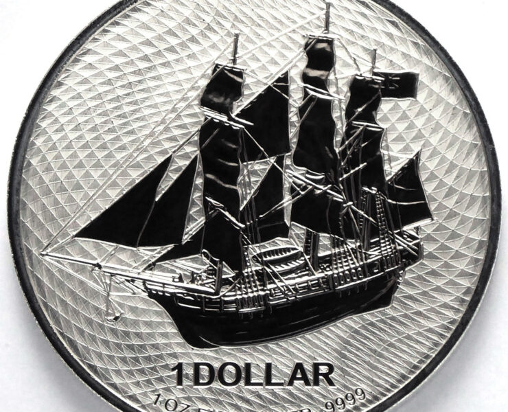 2020 Cook Island Bounty 1 oz Silver Bullion Coin