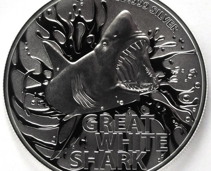 2021 Australian Great White 1oz Silver Bullion Coin