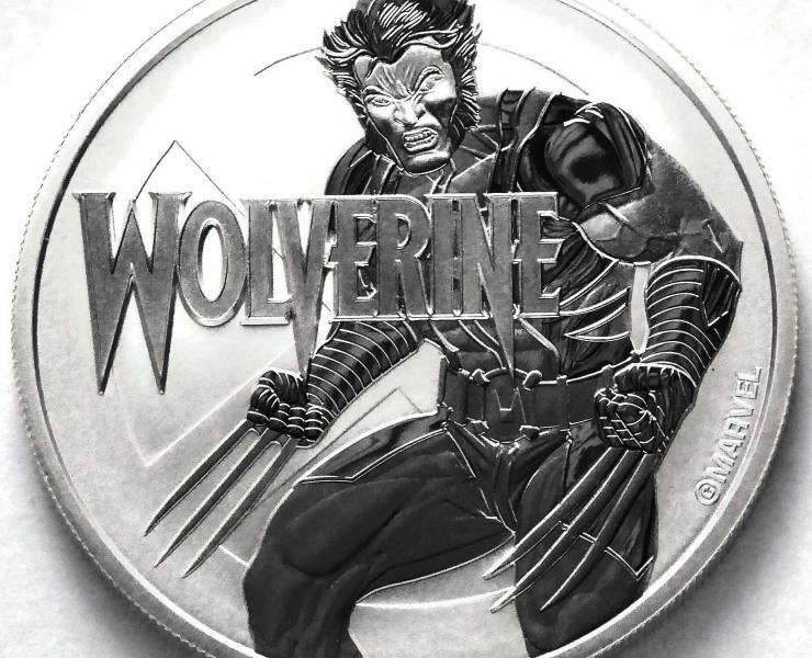 2021 Wolverine Marvel Series 1oz Silver Bullion Coin