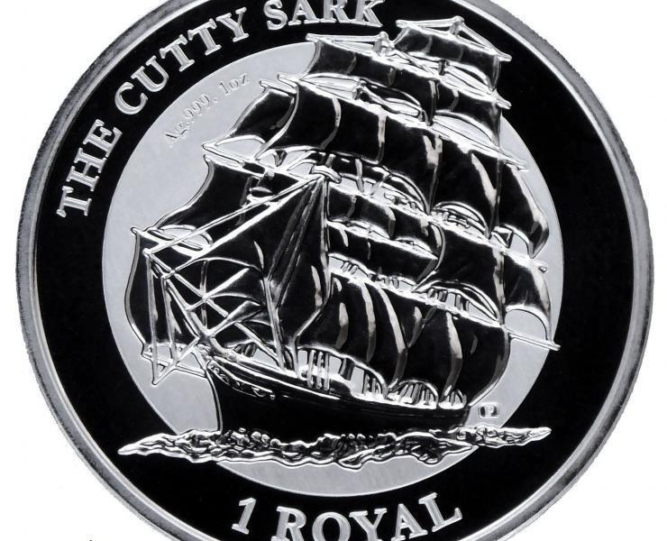 2021 Cutty Sark Reverse Frosted 1oz Silver Bullion Coin